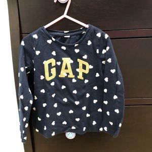 Gap Toddler Girl's Navy Long Sleeve 4T